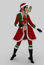 Candy Christmas Outfit G2 - DS
