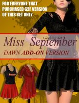 Miss September For Dawn DS-Add-On